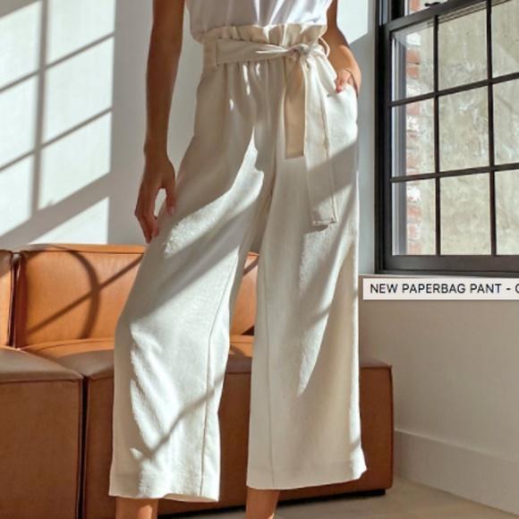 GREY - New Paperbag Pant Aritzia